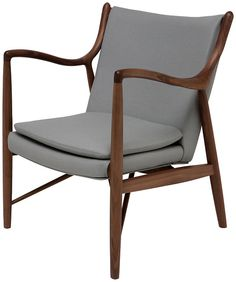 One Kings Lane - Subtle Impact - Chase Lounge Chair, Gray