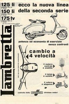i diari della lambretta TV 175 Lambretta