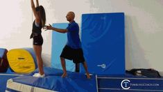 22 drills to help you master the standing back handspring in the fastest and most efficient manner without mental blocks! Gymnastics Lessons, Boys Gymnastics, Tumbling Gymnastics, Gymnastics Coaching, Back Handspring Drills, Flick Flack, Spring Tutorial, Fitness Diet, Cheerleading