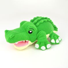 Hunter the Gator - Hunter the Gator is not only a soft, cuddly play animal for your child, but he's also a sponge to make bath-time fun-time!