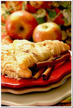 apple pumpkin turnovers