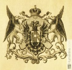 Coat of arms with griffins