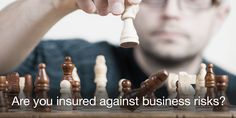 Ensure that you have adequate insurance in place to protect you and your business from common risks.