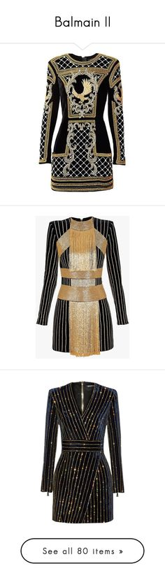 """Balmain II"" by sakuragirl ❤ liked on Polyvore featuring dresses, short dresses, balmain, embellished mini dress, beaded mini dress, velvet mini dress, mini dress, zipper dress, blue and slimming cocktail dresses"