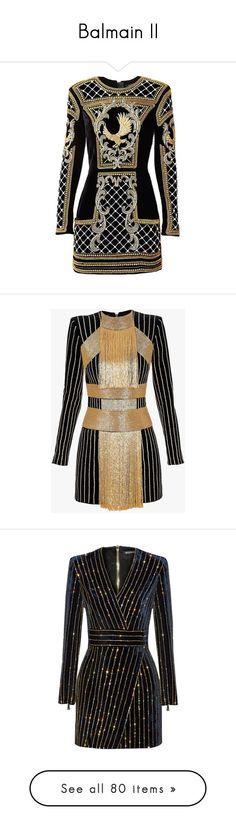 """Balmain II"" by sakuragirl ❤ liked on Polyvore featuring dresses, short dresses, balmain, embellished mini dress, beaded mini dress, velvet mini dress, mini dress, zipper dress, blue and slimming cocktail dresses"