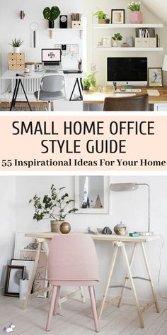 55 Small Home Office Ideas That Will Make You Want To Work Overtime. 55 Small Home Office Ideas That Will Make You Want To Work Overtime These 55 small home office ideas will help you learn how to create a small office in your home and give you tips Tiny Home Office, Small Home Offices, Home Office Storage, Home Office Organization, Home Office Space, Home Office Desks, Home Office Furniture, Bar Furniture, Furniture Online