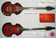 Orfeus Trimincium Bass Guitar