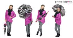 You can still look pretty in pink on a rainy day!  Love this Kate Spade umbrella! Taylor Made Tuesday: Pick a Piko at Eccentrics Boutique