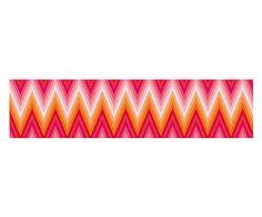 Selbstklebende Wand- & Möbelbordüre Zigzag, 200 x 48 cm