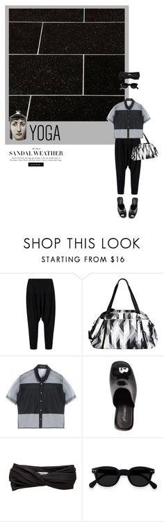 """""""Untitled #970"""" by rzqsyavira ❤ liked on Polyvore featuring NIKE, Christopher Kane, Jeffrey Campbell, Eugenia Kim and Fornasetti"""
