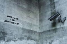 Razorshapes: Banksy - What Are You Looking At? Bansky, You Look, Graffiti, Black And White, Brother, Sweet, Life, Candy, Black N White