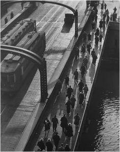 Torkel Korling-Madison Street Bridge, Chicago, 1927