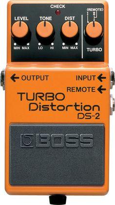 DS-2: Pedal Distorsión - Dos Distorsiones por el precio de Una