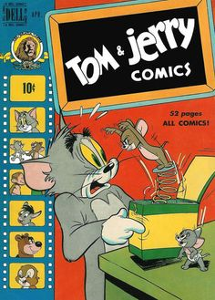 Cover for Tom & Jerry Comics (Dell, 1949 series) #69