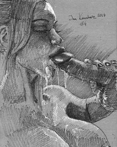 What a mess....who will lick her clean? Any volunteers? || All my works are at: www.jandraws.com || #jandraws #art #artist #drawing #sketch #polishboy #polishmale #love #instadaily #instagood #instabest #girl #woman #model #daily #original #unique #handmade #order #custom #artisan #work #ideal #passion #hardwork #talent #handdrawn || send me a message if you want an original or a print || follow me also for backup: @_jandraws and @jandrawserotica