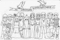 Billedresultat for malebog nordisk mytologi