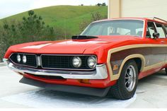 Bid for the chance to own a 1971 Ford Torino Squire Wagon at auction with Bring a Trailer, the home of the best vintage and classic cars online. Ford Torino, Aftermarket Wheels, New Starter, Big Muscles, Trucks, Classic Cars Online, Station Wagon, American, Vintage Cars