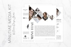 Blog Media Kit by Eesome Design Studio on @creativemarket
