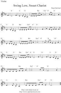 Free Sheet Music Scores: Violin