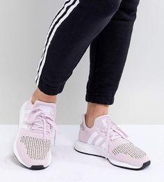 adidas Swift Run Sneakers In Pink Multi