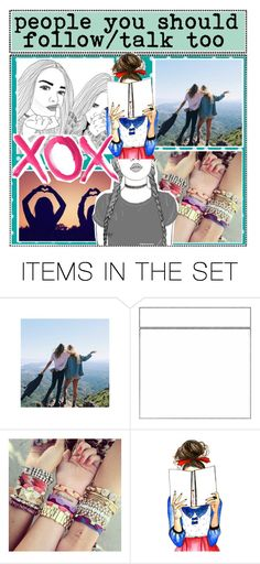"""""""people you should follow"""" by kamicharlotteheart ❤ liked on Polyvore featuring art"""