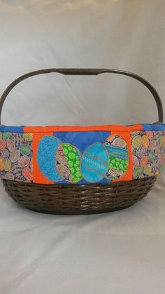 Jumbo horse lovers handwoven easter or nursery basket for a girl check out this item in my etsy shop httpsetsy negle Image collections