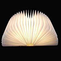 Faltbare Led Stimmungsbeleuchtung Von Colleer Led Lampe Mit Multi Farben Stimmungslicht Ideal Als Buchlampe Tischlampe Buchlampe Tischlampen Und Lampentisch