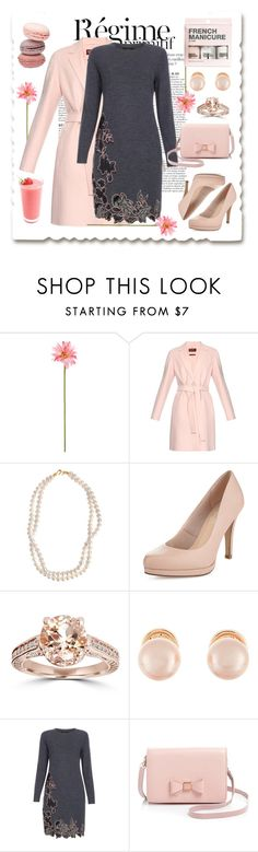 """""""Pink Elegance"""" by megalyssa ❤ liked on Polyvore featuring Anja, Linea, MaxMara, STELLA McCARTNEY, Limited Edition, Kenneth Jay Lane, Paul Smith, Ted Baker, H&M and women's clothing"""