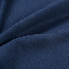 Navy blue fabricsolid color linen fabricplain linen by APlusCloth