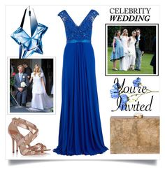"""Celebrity Wedding Contest"" by sara-86 ❤ liked on Polyvore featuring Jimmy Choo, Thierry Mugler, Chanel, Gina Bacconi and Ashlyn'd"