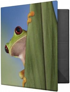 Red-Eyed Tree Frog Binder
