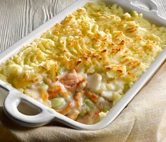 Oven Baked Fish Pie Recipe
