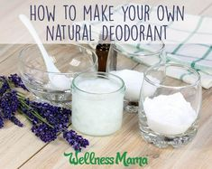 Deodorant can contain a lot of harmful chemicals. Save time and money by making this natural homemade deodorant with coconut oil, baking soda & oils.