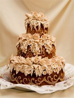 Russian Wedding Bread Karavaj Beautiful Traditional Ukranian Anna Karenina Themed Pinterest