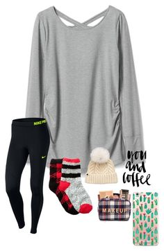 """hey guys, rtd plzz!❤️"" by prepstermaddy on Polyvore featuring Gap, NIKE, Free Press and UGG"