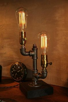 Dimming lamp Industrial Lighting by UrbanIndustrialCraft on Etsy