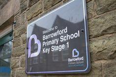 Brand Design - Barrowford Primary School. Signage & Wayfinding