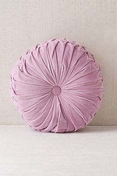 Shelly Round Velvet Pillow | Round Pillow, Urban Outfitters And Pillows