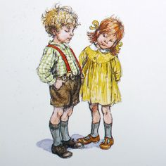 Shirley Hughes  My Naughty Little Sister and Bad Harry! Mmmm Trifle! :D