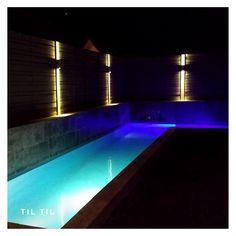 ". #piscinadehormigon #piscinas #piscinacondiseño #construcciondepiscinas…"" Ideas Para, Instagram, Outdoor Decor, Home Decor, Swimming Pool Construction, Night, Summer Time, Projects, Interior Design"