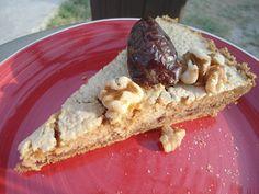 Walnut and date pie