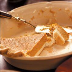 Pumpkin Cream Cheese Pie Recipe from Taste of Home -- shared by Diane Selich of Vassar, Michigan