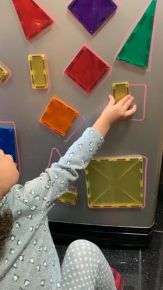 Here is an easy early math activity to help your toddler practice their shapes using magnetic tiles in this creative shape match activity on your fridge! Early Learning Activities, Montessori Activities, Infant Activities, Activities For Kids, Shape Activities, Early Education, Education Logo, Education Center, Education Quotes