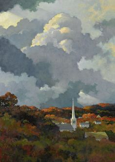 """Autumn in New England"" Art Contrarian: Eric Sloane: Illustrator of Rural America"