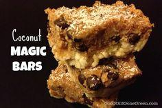 Coconut Magic Bars #vegan #raw #nobake GoodGirlGoneGreen.com