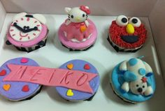 Assorted fun cupcakes :)
