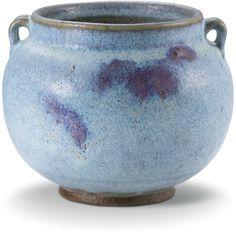 A 'Jun' handled jar, Ming dynasty