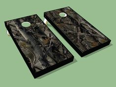 The very best Full Color True Timber Camo Cornhole Board wrap. All Camo cornhole board wraps designed and created by AllCornhole.com