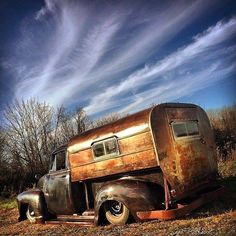 Rat Rod Camper