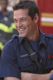 No, I'm not switching sides. But here's a couple for the ladies who love firemen   #Doherty #Third watch